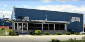Photo of sausage factory and deli built with steel.