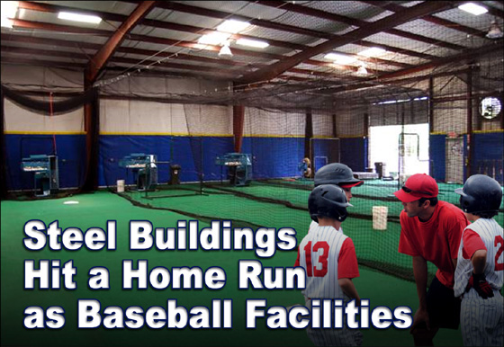 Steel Buildings For Baseball Facilities Sports Facility