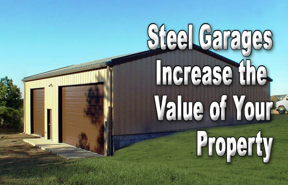 Build A Steel Or Metal Detached Garage, Will Adding A Detached Garage Add Value