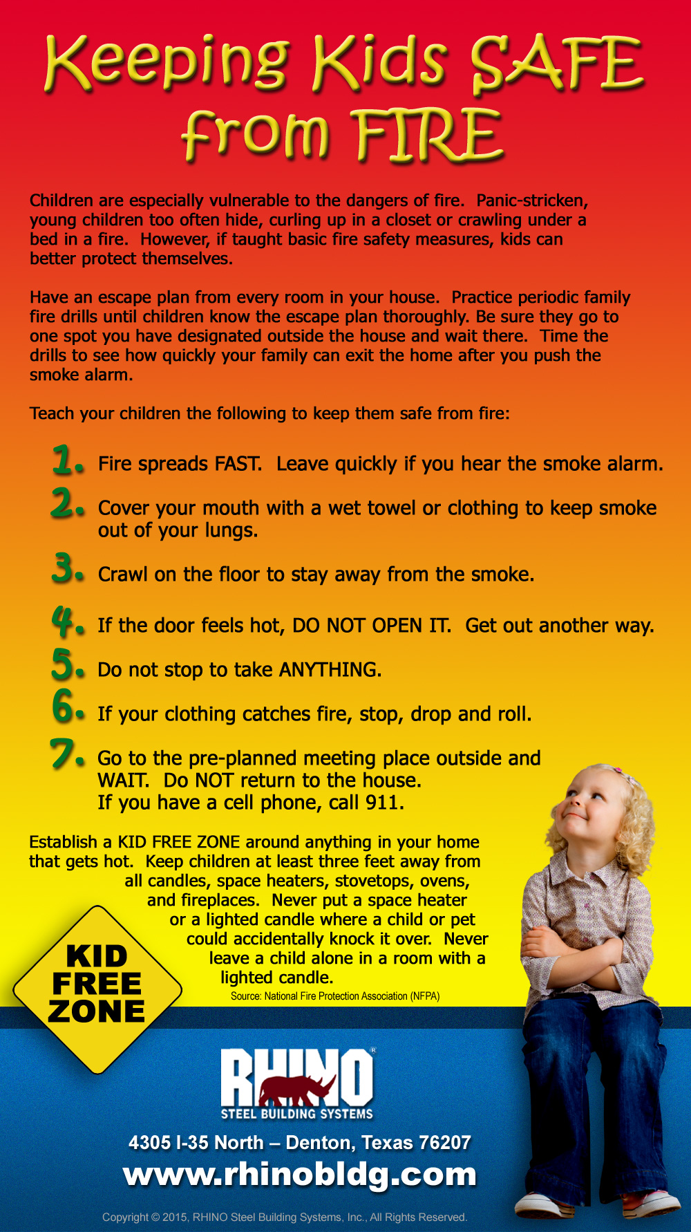 7 Fire Safety Tips- Part 1   Fire Prevention Safety Tips