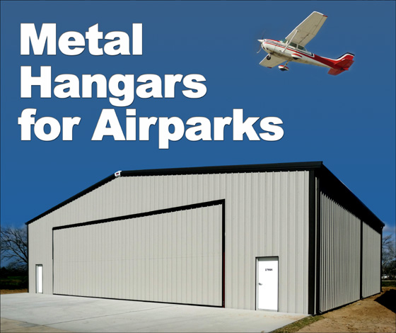 Metal Hangars In Residential Airparks Metal Hangar Buildings