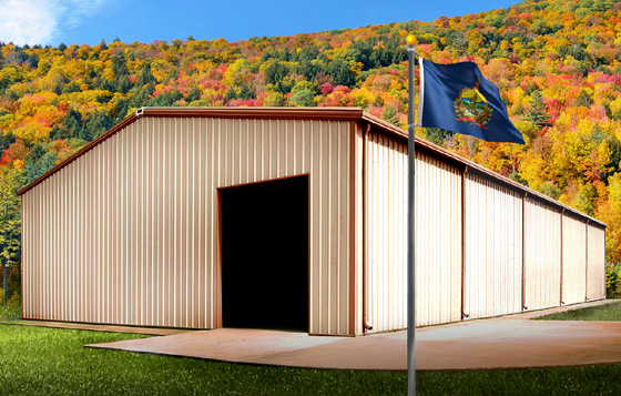 Steel buildings in Vermont: The Best Choice.