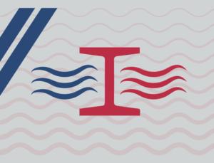 Icon representing thermal bridging in metal buildings.