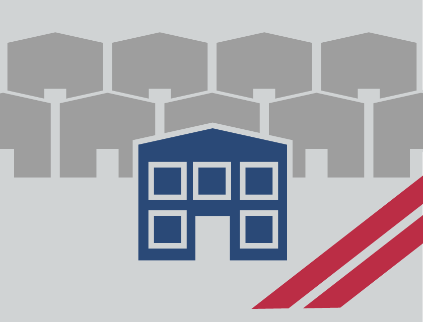 Icon showing RHINO steel buildings stands out from the common herd of metal building suppliers