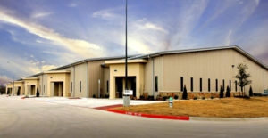 Photo of attractive RHINO steel warehouses in Texas.